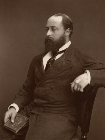 Hrh the Prince of Wales, 1876-Lock & Whitfield-Photographic Print