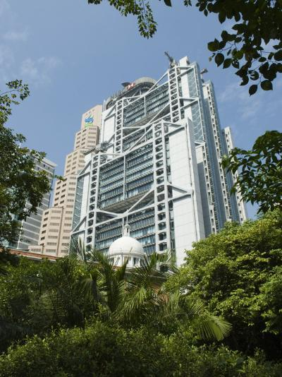 Hsbc Building, Hong Kong, China-Amanda Hall-Photographic Print
