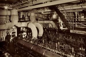 HSDG, Dampfer, M.S. Monte Sarmiento, Maschinenraum