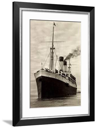HSDG, M.S. Monte Olivia, Schrauben Motorschiff--Framed Giclee Print