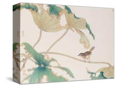 Bird on Lotus Leave