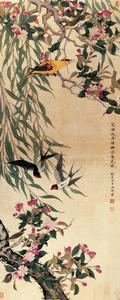 Birds and Flowers by Hsi-Tsun Chang