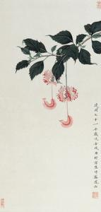 Chinese Hibiscuses by Hsi-Tsun Chang