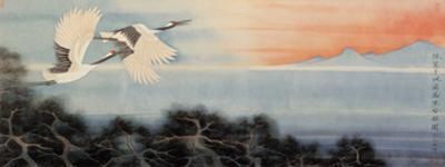 Flying at Dawn by Hsi-Tsun Chang
