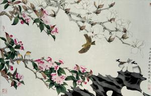 Spring Flowers by Hsi-Tsun Chang
