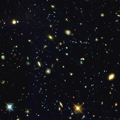 HST Deep-view of Several Very Distant Galaxies--Photographic Print