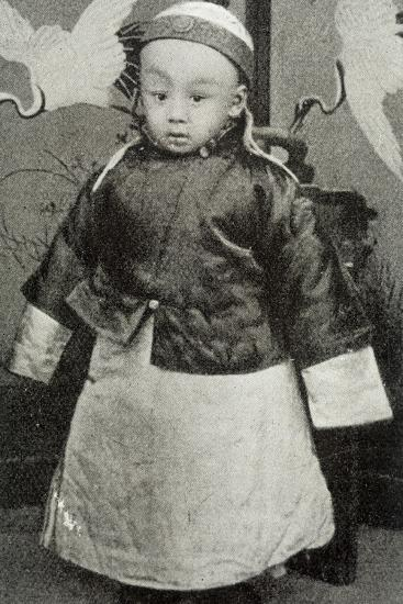 Hsuan-T'Ung, Last Emperor--Photographic Print