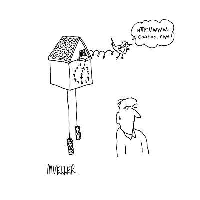 Http://www.coocoo.com' - Cartoon-Peter Mueller-Premium Giclee Print