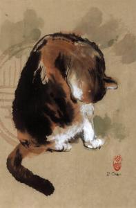 Cat's Feeling by Hu Chen