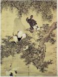 Lotus Pond, 1726-Hua Yan-Mounted Premium Giclee Print