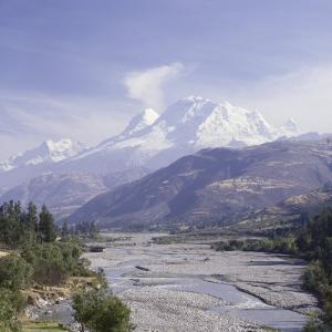 Huandoy, Huascaran and Alpamayo Mountains, Peru
