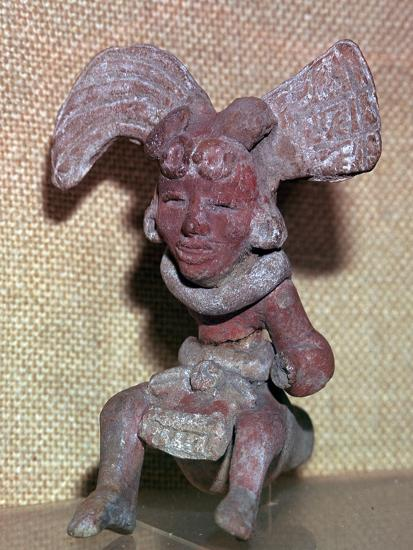 Huaxtec culture terracotta figurine-Unknown-Giclee Print