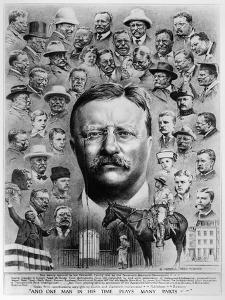 Theodore Roosevelt by Hubbell Reed McBride