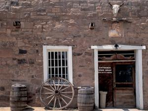 Hubbell Trading Post National Historic Site on the Navajo Nation Reservation, Arizona