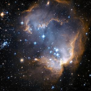 Starbirth Region NGC 602 by Hubble Heritage