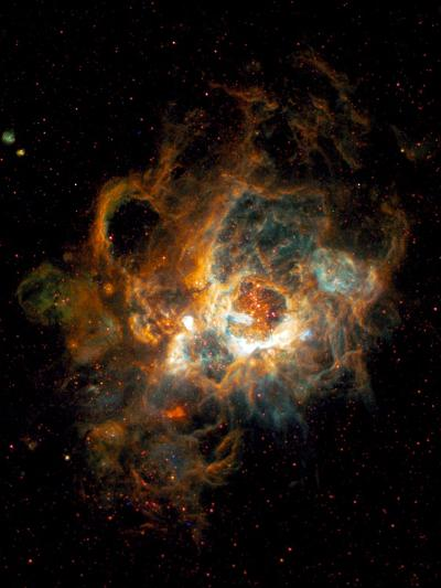 Hubble Space Telescope View of Nebula NGC 604--Photographic Print
