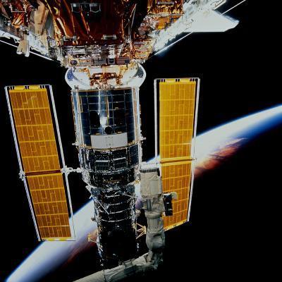 Hubble Space Telescope-Stocktrek Images-Photographic Print