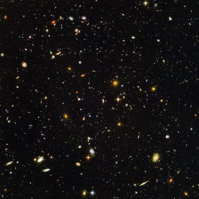 Hubble Ultra Deep Field Galaxies--Photographic Print