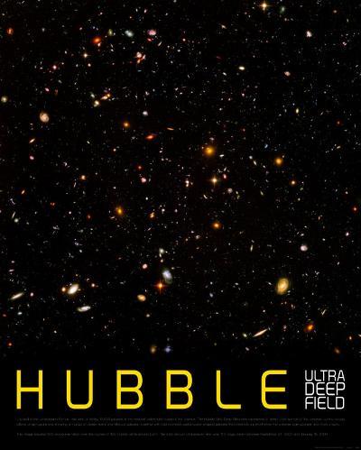 Hubble Ultra Deep Field--Art Print