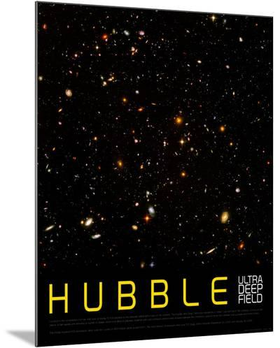 Hubble Ultra Deep Field--Mounted Print