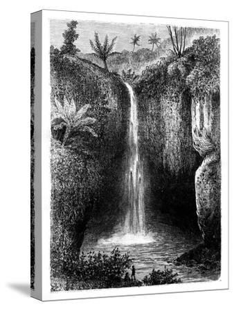 Fall of the River, Tondano, Indonesia, 19th Century