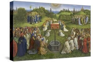 Adoration of the Mystic Lamb by Hubert & Jan Van Eyck