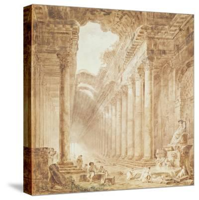 A Colonnade in Ruins, 1780