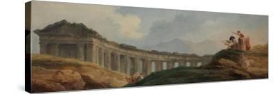 A Colonnade in Ruins
