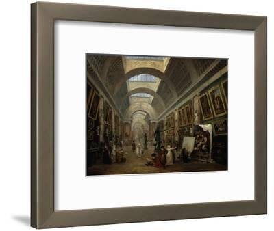 Ausstattungsprojekt für die grosse Galerie des Louvre. 1796