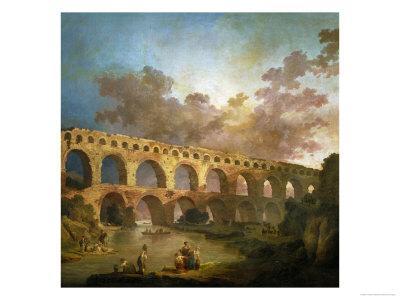 Le Pont Du Gard, 1787