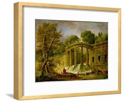 Pavilion with Cascade, 1760
