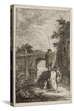Plate Eight from Evenings in Rome, 1763-64