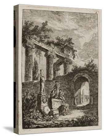 Plate Three from Evenings in Rome, 1763-64