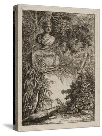 Plate Two from Evenings in Rome, 1763-64