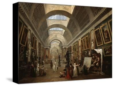 Project For the Disposition of the Grand Gallery, c.1796