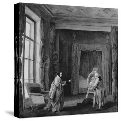 The Artist Presents a Portrait to Madame Geoffrin, 1773-74