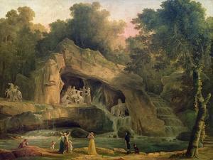 The Bosquet Des Bains D'Apollo by Hubert Robert