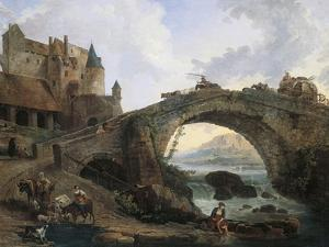 The Bridge, Painted by Hubert Robert