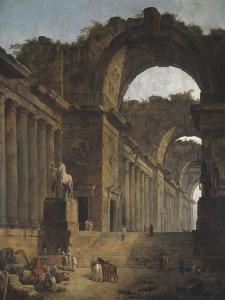 The Fountains, 1787-88 by Hubert Robert
