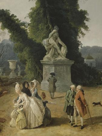 Vue du Tapis Vert à Versailles