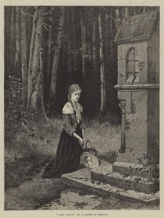 A Girl Praying