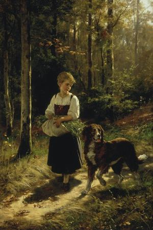 The Walk in the Forest, 1883
