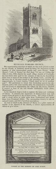 Hucknall Torkard Church--Giclee Print