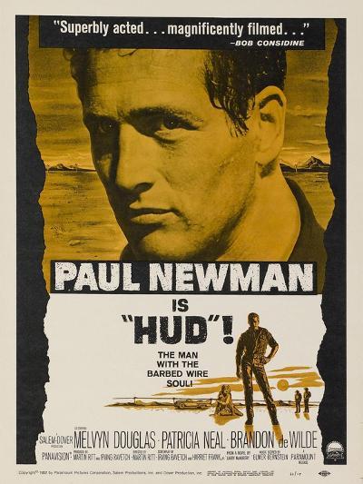 Hud, 1963--Art Print