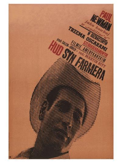 Hud, Polish Movie Poster, 1963--Art Print