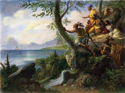 Hudson: New York, 1609--Giclee Print