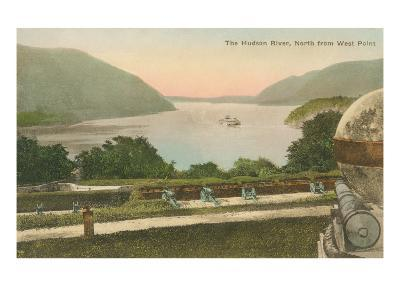 Hudson River from Westpoint, New York State--Art Print