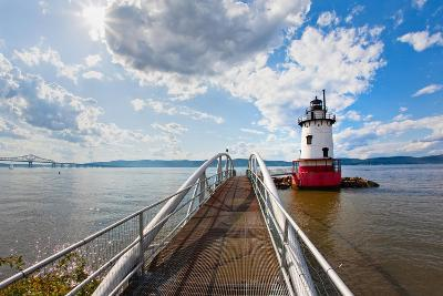 Hudson River Scenic, Tarrytown, New York-George Oze-Photographic Print