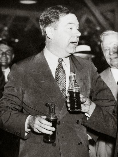 Huey Long, American politician, early 1930s-Unknown-Photographic Print