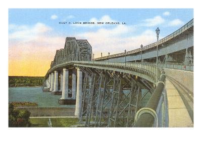Huey P. Long Bridge, New Orleans, Louisiana--Art Print